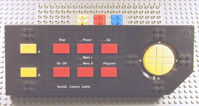 Electric Technic Control Centre with Yellow and Red Buttons (2840c01)