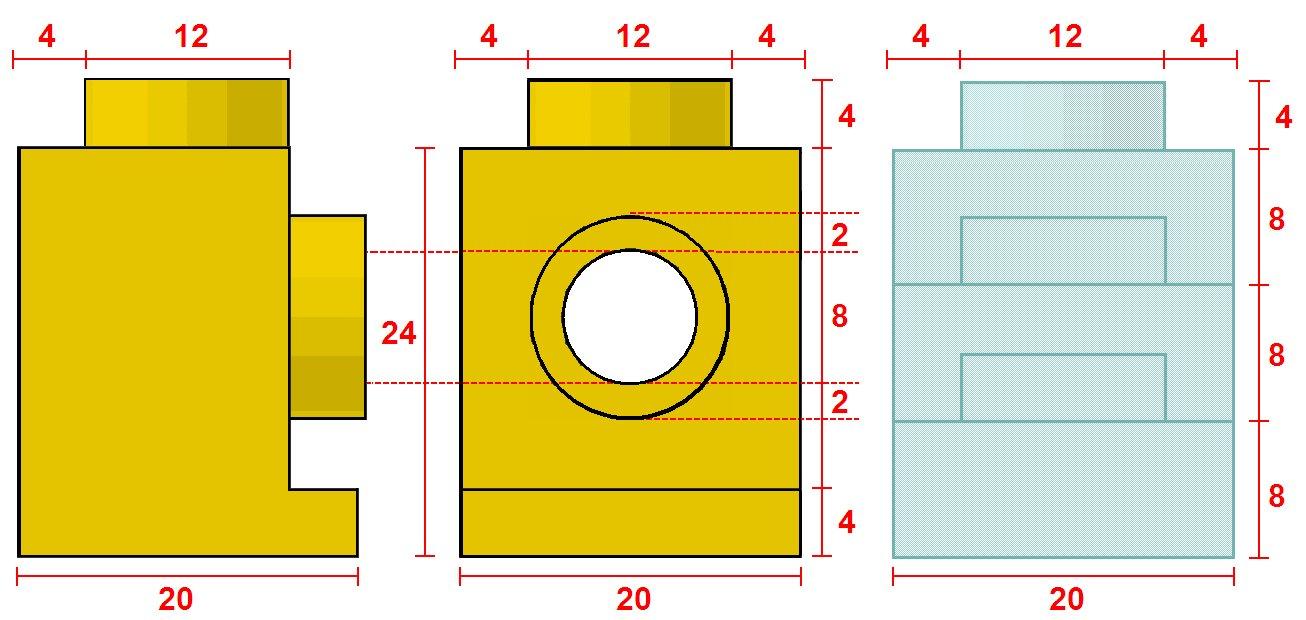 headlight brick geometry